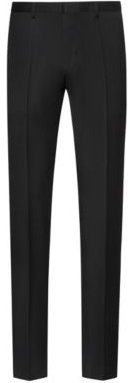 Extra-slim-fit virgin-wool pants with natural stretch