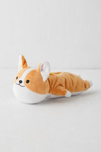 Plushie Pencil Case - Beige at Urban Outfitters