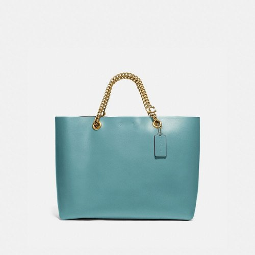 Signature Chain Central Tote - Women's