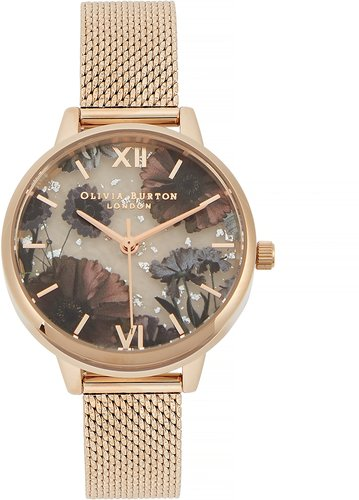 Celestial gold-plated watch