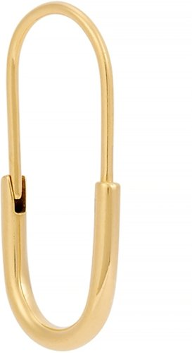 Chance mini gold-plated earring