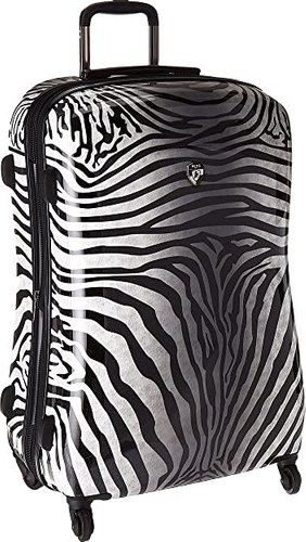 Zebra Equus 30 Spinner (Black/White) Luggage