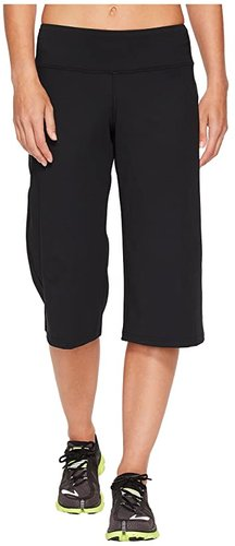 Greenlight Relaxed Capri Pants (Black) Women's Workout
