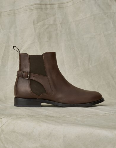NEWINGTON LEATHER BOOTS Brown US 8 /