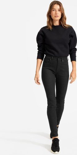 High-Rise Skinny Jean by Everlane in Black, Size 27