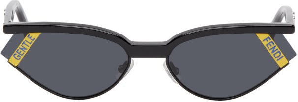 Black Gentle Monster Edition Cat-Eye Sunglasses