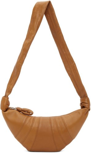 Brown Small Croissant Bag
