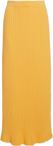 Significant Other Ariana Ribbed-Knit Maxi Skirt