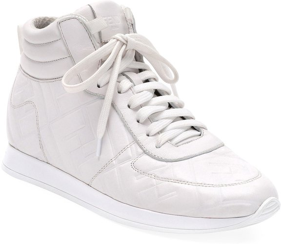 FFreedom High-Top Leather Sneakers
