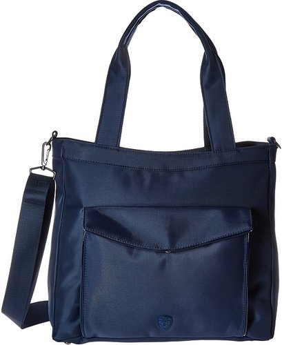 Hilite Laptop Tablet Tote with RFID (Navy) Computer Bags